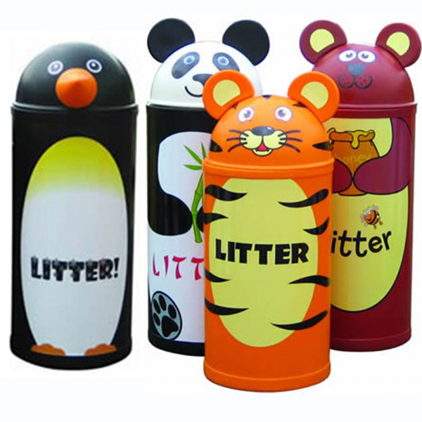 Four Small Animal Bins